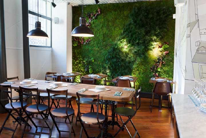 Restaurante la Musa - Madrid - Jardin Vertical